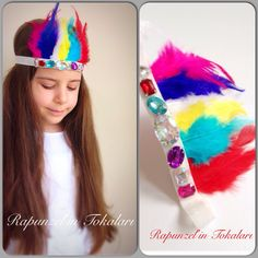 Çocuk toka indian kids fashion hairband saç aksesuar
