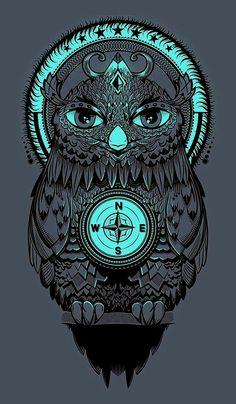 Owl Wallpaper, Graffiti Wallpaper, Colorful Owl Tattoo, Owl Artwork, Lord Ganesha Paintings, Acid Art, Owl Illustration, Cool Forearm Tattoos, Phone Backgrounds