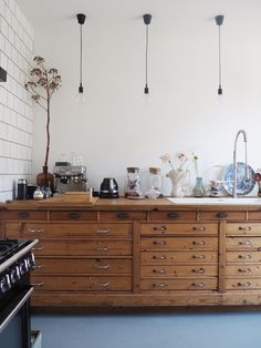 Home Interior Kitchen .Home Interior Kitchen Eclectic Kitchen, Kitchen Interior, Kitchen Decor, Kitchen Dining, Interior Modern, Interior Paint, Unfitted Kitchen, Classic Kitchen, Vintage Kitchen