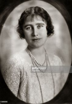 The Duchess of York, portrait, The Duchess of York, (1900-2002) born Lady Elizabeth Bowes-Lyon, was Queen Consort to King George VI, and on his death became the Queen Mother, ever popular with the people