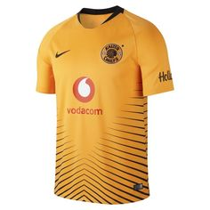 2018 19 Kaizer Chiefs FC Stadium Home Men s Football Shirt - Orange e95676282