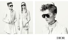 God Save the Queen and all: Dio(R)evolution Eyewear Campaign #Dior #Revolution #Sunglasses #Campaign