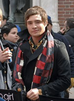 Nate: You kill people now, what you strangle them with your scarf? Chuck: Don't mock the scarf, Nathaniel, it's my signature.