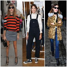 The 21 Best-Dressed Women Right Now - Alexa Chung, The It-Brit is known to be a major trendsetter.
