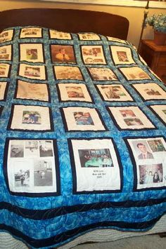 I want one.....Memory Quilt                                                                                                                                                     More
