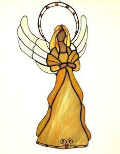 Angel glass amber- RSart