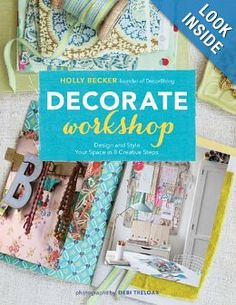 Decorate workshop : Interesting coffee table book