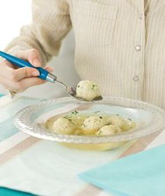 The key to making fluffy, light matzoh balls is to pack them loosely; you want them to float when they cook.