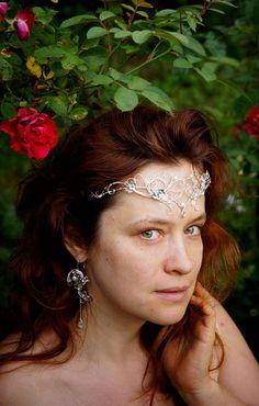 Tiara. Elven tiara elven circlet  Elvish tiara elven crown
