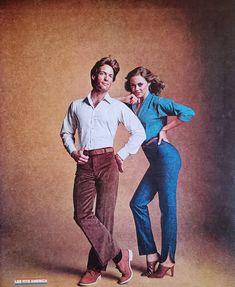 Unisex Fashion, 70s Fashion, Vintage Fashion, Vintage Clothing, Vintage Outfits, Vintage Advertisements, Ads, Looks Street Style, Fashion Advertising