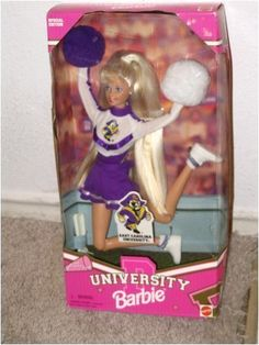 1996 University Barbie ECU!   FIRST BIG GIRL PURCHASE!!!!