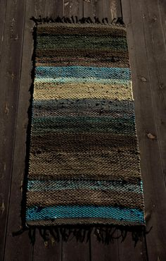 """Rug """"When A Tree Falls In The Forest"""" - Terra Mama Autumn Trees, Bohemian Rug, Hand Weaving, Textiles, Rugs, Fall, Fall Trees, Farmhouse Rugs, Autumn"""