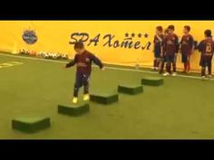 Barcelona youth training - YouTube
