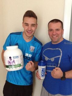 Twitter / _h0tlikepayne: #New of Liam with Mark Jarvis! ...