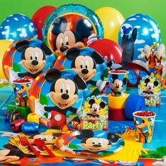 Mickey Mouse decorations Birthday Express