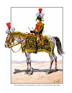 Kettledrummer of the Grenadiers a Cheval of the Guard 1804, by JOB (Jacques Onfroy de Breville).