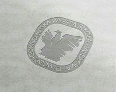 Projekt herbu Śląskiej uczelni wyższej. Inspiracja-dotychczasowe elementy sztandaru uczelni i pomnika Powstańców Śląskich.