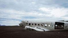 Crashed DC-3 Plane, Southern Iceland