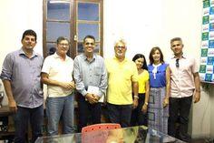 NONATO NOTÍCIAS: Reitor da Univasf visita prefeito de Senhor do Bon...