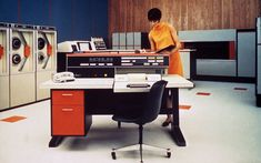 Computer Theme, Alter Computer, Retro Office, Vintage Office, In The Year 2525, Computer Equipment, Discount Furniture Stores, Theme Background, Background Images