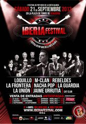 Iberia Festival, I Festival de Pop-Rock de la Costa Blanca http://www.agendalacant.es/index.php/iberia-festival-i-festival-de-pop-rock-de-la-costa-blanca