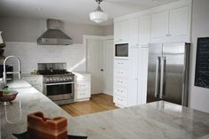 White Kitchen with No Upper Cabinets/kitchen pantry- http://ths.gardenweb.com/forums/load/kitchbath/msg1213513526540.html?5