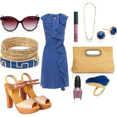spring social, created by suedotc on Polyvore