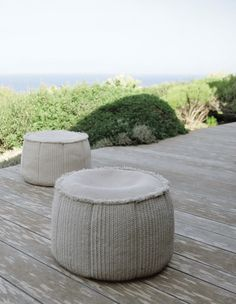 Soft Outdoor Ottoman_by Paola Lenti