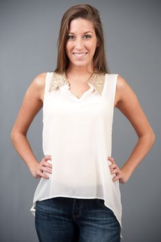 New Year, New You Blouse-Ivory