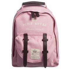 Pink Small 'Petit Royal' Backpack (28cm), Elodie Details, Girl