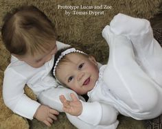 Lucas / Zoe Reborn Vinyl Doll Kit by Tomas Dyprat Reborn Doll Kits, Reborn Baby Dolls, Life Like Babies, Realistic Baby Dolls, Baby Supplies, Vinyl Dolls, Vintage Paper Dolls, Beautiful Dolls, Beautiful Things