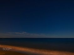 Sea night - Playa de tavernes de la valldigna