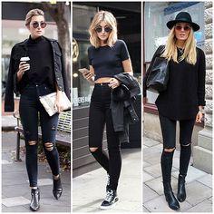 Como usar: Jeans Preto