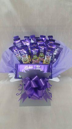Cadburys Freddo Chocolates Bouquet Sweet Gift Hamper | Etsy Sweet Bouquets Candy, Candy Bouquet Diy, Money Bouquet, Bouquet Box, Gift Bouquet, Candy Boquets, Chocolate Hampers, Chocolate Gifts, Luxury Chocolate