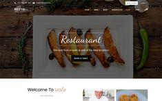 Resto - Restaurant Theme - Bootstrap 4 by Creative DM Restaurant Website Templates, Restaurant Themes, Bootstrap Template, Best Location, Creative, Design