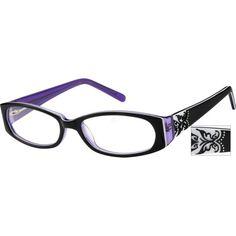 37f89765576 Black Full-Rim Acetate Frame With Spring Hinges  481717