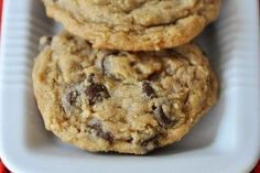 Chewy Oatmeal Chocolate Chip Coconut Cookies {My Favorite Cookie}
