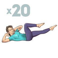 Mutatunk pár egyszerű és zseniális egyperces nyújtási gyakorlatot a hátfájás hatékony csökkentésére.
