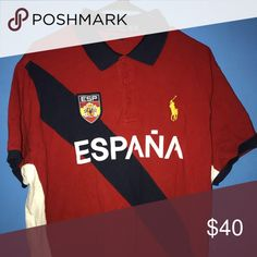 """Ralph Lauren """"ESPANA"""" Polo Ralph Lauren """"ESPANA"""" Polo  Size: XXL (fits like an XL) Polo by Ralph Lauren Shirts Polos"""