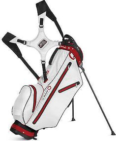75d0a0f5ef25 The E-Z fit dual strap system on these mens ultra-lite waterproof golf  stand bags by Sun Mountain are comfortable and easy to adjust