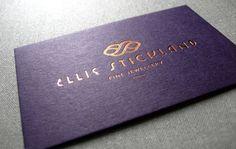 2016 New Cardboard Purple Color Custom Business Card Gold Foil Business Cards Printing Service Carte De Visite Best Price