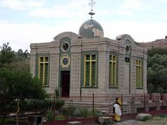 Aksum, Ethiopia - This church reputedly houses the sacred Ark of the Covenant, yet no one is ever allowed inside to see~