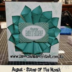 August stamp of the month #ctmh