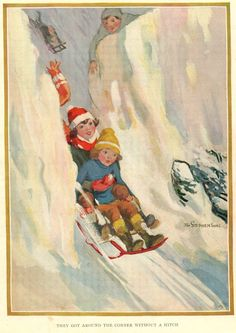Antique 1924 Children's Book Plate Eunice by suesancollectibles