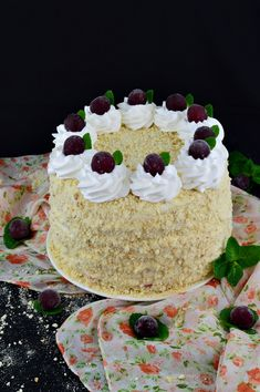 Yummy Cakes, Vanilla Cake, Diy And Crafts, Food And Drink, Sweets, Desserts, Pies, Tailgate Desserts, Deserts