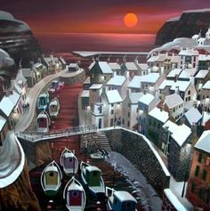 Staiths by Irish Contemporary Artist George CALLAGHAN