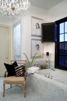 Gorgeous bathroom interior design ideas and decor by Joy Tribout Interior Design