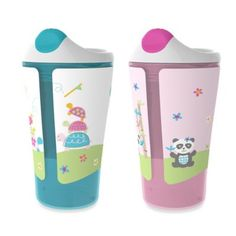 Born Free® 10 oz. Sippy Cups in Blue/Pink (Set of 2) - buybuyBaby.com