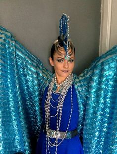 Flying-Fish - blue cloak! Check out my blog- http://rachelkiernan.com/2013/11/28/halloween-2013/