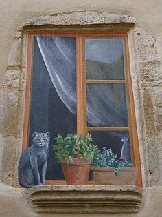 Trompe l'oeil -- this really makes you take a second look